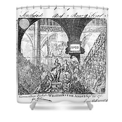 George IIi: Coronation, 1761 Shower Curtain by Granger
