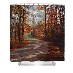 Gibson Ridge Road Shower Curtain