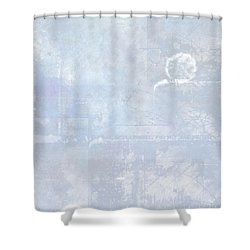 Glacial Shower Curtain by Christopher Gaston