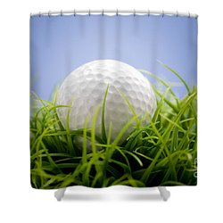 Golfball Shower Curtain