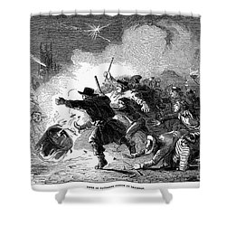 Guy Fawkes Day, 1853 Shower Curtain by Granger