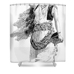 Harem Woman. 19th Century Shower Curtain by Granger