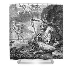 Hercules Shower Curtain by Granger