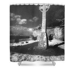 High Cross Shower Curtain by Simon Marsden