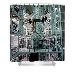 Hubble Space Telescope Shower Curtain by NASA/Science Source