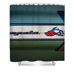 Impala Brightwork Shower Curtain