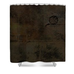 Industrial Shower Curtain by Christopher Gaston