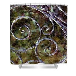 Iron Gate Shower Curtain