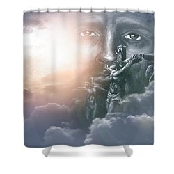 Isaiah's Vision Shower Curtain by Bill Stephens