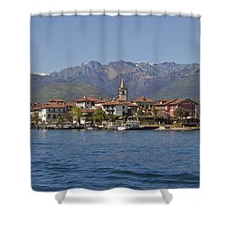 Isola Dei Pescatori Shower Curtain by Joana Kruse