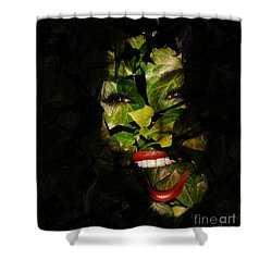 Shower Curtain featuring the photograph Ivy Glamour by Clayton Bruster