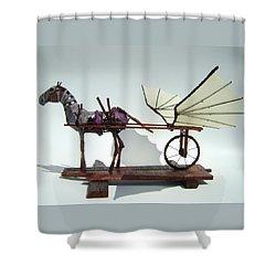 Jabber Box Shower Curtain
