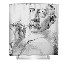 James Gordon Bennett, Jr Shower Curtain by Granger