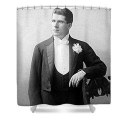 James J. Corbett Shower Curtain by Granger