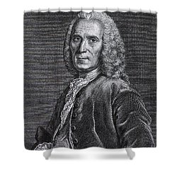 Jean Astruc, French Professor Shower Curtain by Science Source