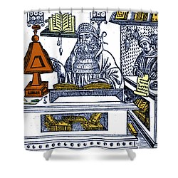 John Peckham, Anglican Theologian Shower Curtain by Science Source