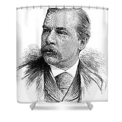 John Pierpont Morgan Shower Curtain by Granger