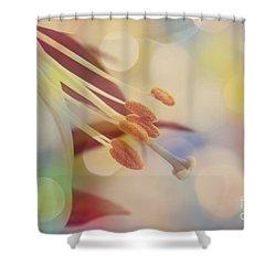 Joyfulness Shower Curtain by Aimelle