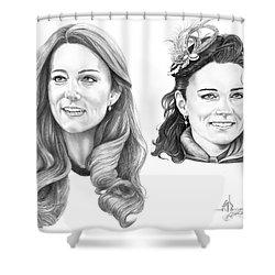 Kate Middleton Shower Curtain by Murphy Elliott