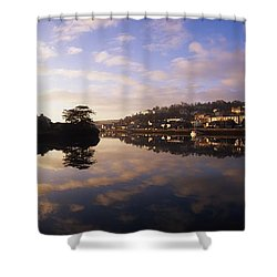 Kinsale Harbour, Co Cork, Ireland Shower Curtain by The Irish Image Collection