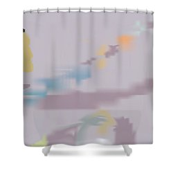 Kundalini Reveals Dna Shower Curtain