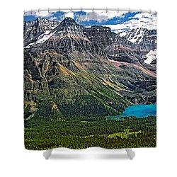 Lake O'hara Shower Curtain by Steve Harrington