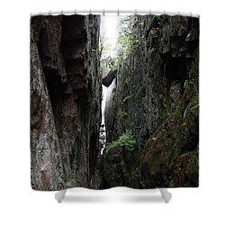 Lake Superior At Lake Superior Shower Curtain by Ted Kinsman