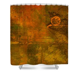 Landscape Of Mars Shower Curtain by Christopher Gaston