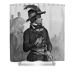 Lazare Carnot (1753-1823) Shower Curtain by Granger