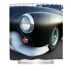 Lean Mean Racing Machine Shower Curtain