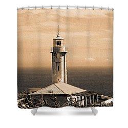 Lighthouse Shower Curtain by Gaspar Avila