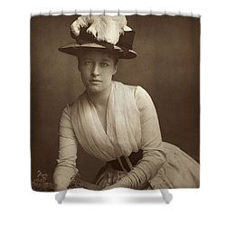 Lillie Langtry (1852-1929) Shower Curtain by Granger