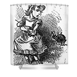 Little Miss Muffet Shower Curtain by Granger