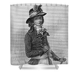 Louis Saint-just (1767-1794) Shower Curtain by Granger