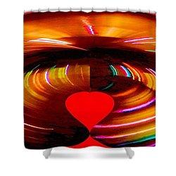 Love Shower Curtain by Carolyn Repka