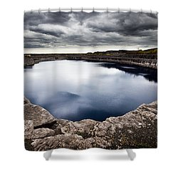 Marmora Mine Shower Curtain by Cale Best