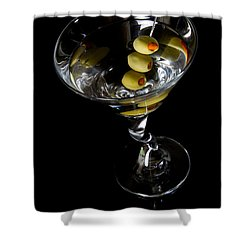 Martini Shower Curtain