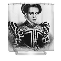 Mary I, Queen Of England And Ireland Shower Curtain