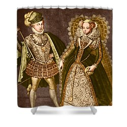 Mary, Queen Of Scots Shower Curtain by Omikron