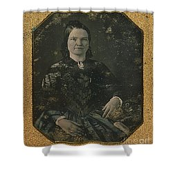 Mary Todd Lincoln, First Lady Shower Curtain by Photo Researchers
