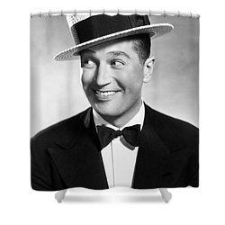 Maurice Chevalier Shower Curtain by Granger