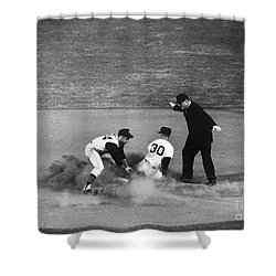 Maury Wills (1932- ) Shower Curtain by Granger