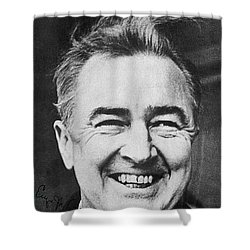 Mccarthy Campaign, 1968 Shower Curtain by Granger