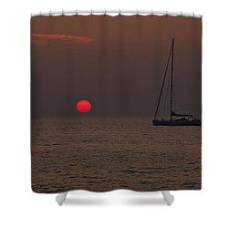 Mediterranean Shower Curtain by Joana Kruse