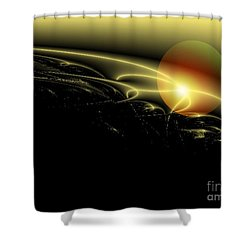 A Star Was Born, From Serie Mystica Shower Curtain