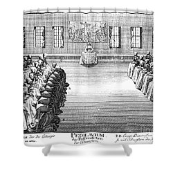 Moravians, 1757 Shower Curtain by Granger