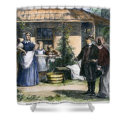 Mormon Wives, 1875 Shower Curtain by Granger