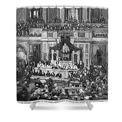 Morrison R. Waite (1816-1888) Shower Curtain by Granger