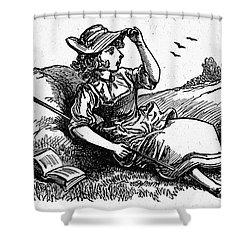 Mother Goose: Bo-peep Shower Curtain by Granger