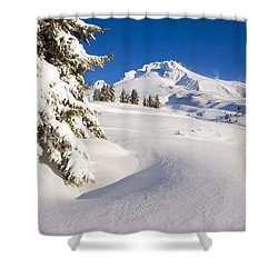 Mount Hood, Oregon, United States Of Shower Curtain by Craig Tuttle